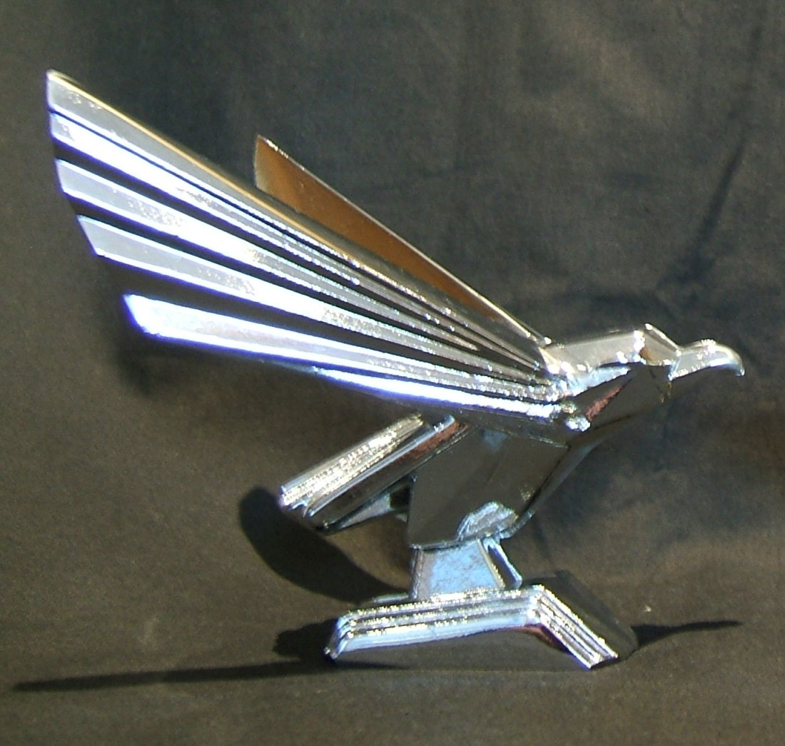 Retro Eagle (JUDGE DREDD)-Chrome Plated