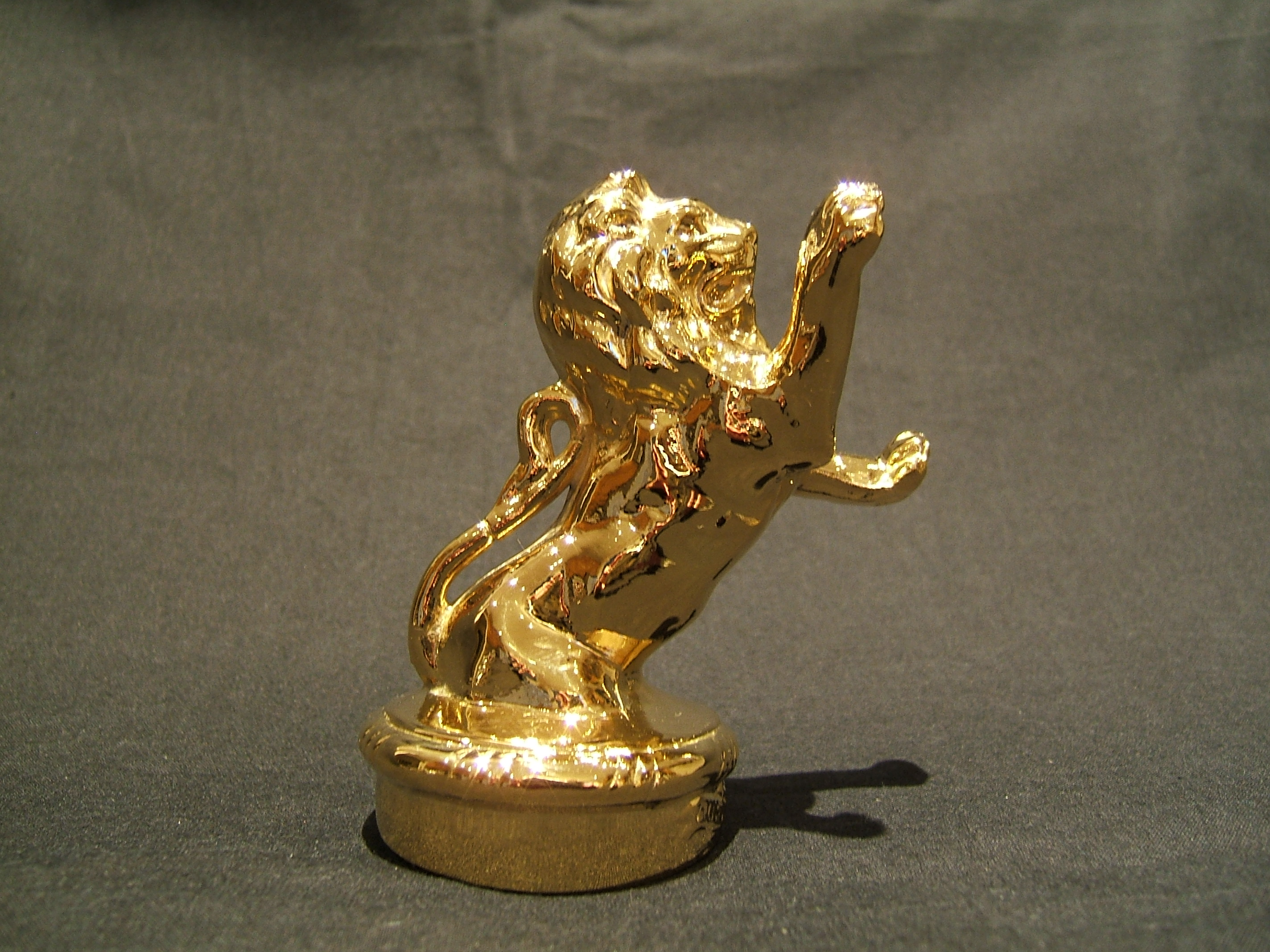 Franklin Lion Bonnet MasGold Plated