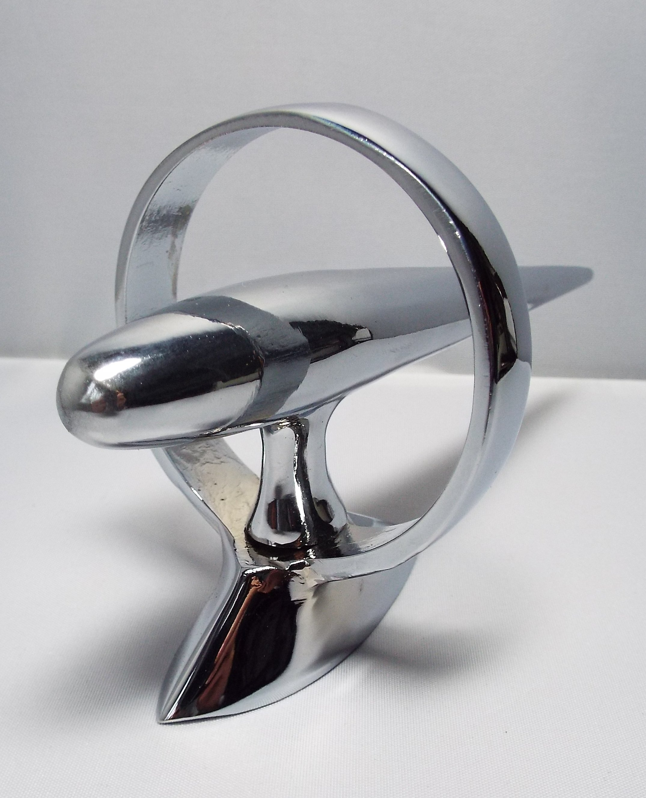 Torpedo Bonnet Mascot -Chrome Plated