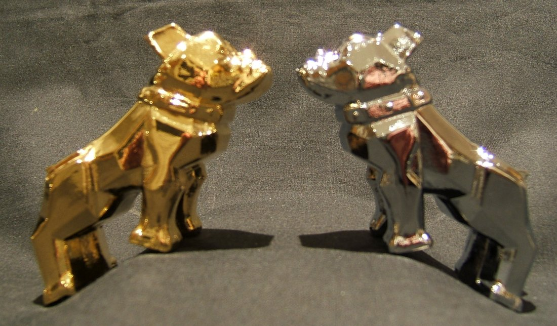 Mack Trucks Gold Bulldog Hood Ornament