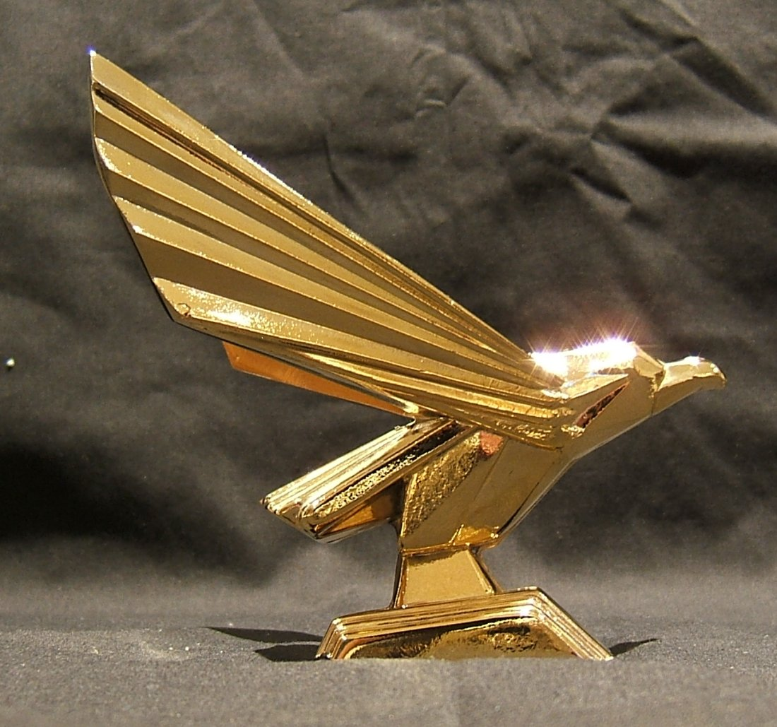 Retro Eagle (JUDGE DREDD)-Gold Plated